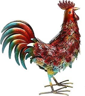 Best large metal rooster yard art Reviews
