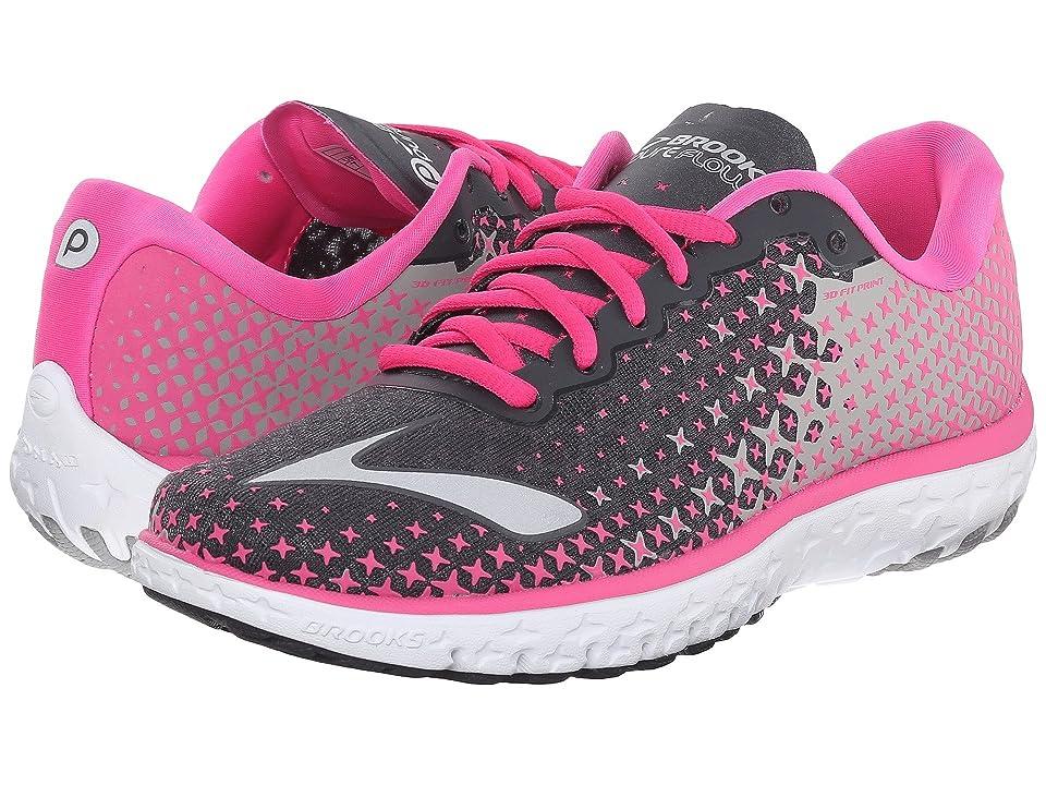 Brooks PureFlow 5 (Anthracite/Pink Glow/Alloy) Women