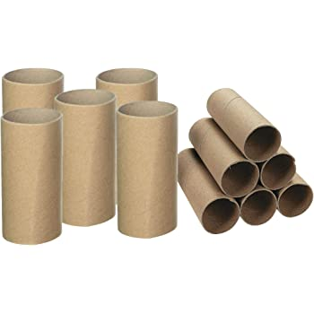 Lot of 75 EMPTY Toilet Paper Rolls Tubes White Arts and Crafts School Projects