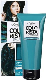 L'Oréal Paris Colourista Washout Turquoise Hair (Semi-Permanent Hair Colour)
