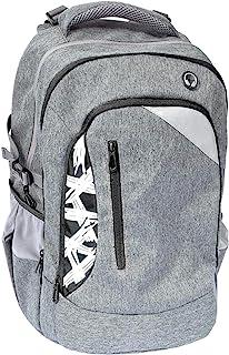Eberhard Faber - Plecak szkolny X-Style o pojemności 30 litrów, 2 duże kieszenie i przedsionki, pas piersiowy, część tylna...