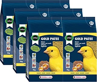 Orlux Gold Patee Canaries Eggfood-Expert, Case of Six 1 kg Bags (13.2 lbs)