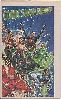 Comic Shop News, no. 1253 (2011) (cover: Justice League #1 (New 52): Wonder Woman, Superman, Aquaman, Flash, Batman): Spider-Man strip with Morbius; Wolverine & Black Cat; X-Schism; Fear Itself; Flash