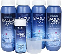 Baqua Spa 88860 Sample Kit Spa and Hot Tub Care Bundle