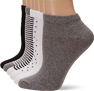 Amazon Essentials paquete de 6 calcetines informales de corte bajo para mujer