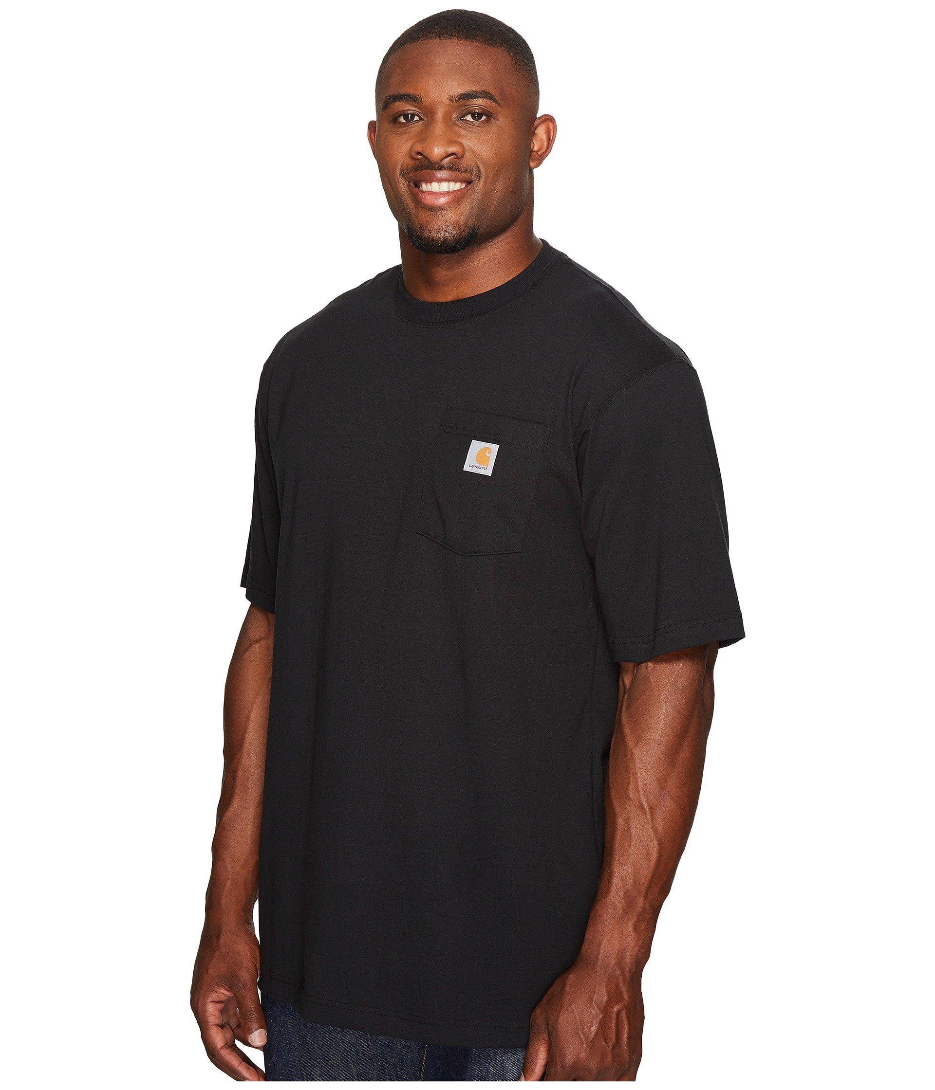 s Workwear Tall S Black Pocket Tee Carhartt f6SqUf