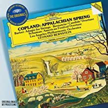 Originals Appalachian Spring Barber Adagio For Strings Bernstein