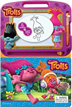 Trolls - Learning Book with Magnetic Drawing Pad
