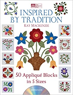 Inspired by Tradition: 50 Appliqué Blocks in 5 Sizes