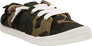 Women's Genius Comfortable Slip On Sneaker Shoe with No-Tie Laces and Cute Design