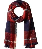 Herringbone Plaid Blanket