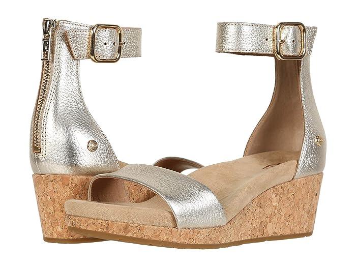 UGG  Zoe II (Gold) Womens Sandals