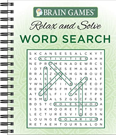 Brain Games - Relax and Solve: Word Search: Publications