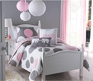VCNY Parade Full Comforter Set, Pink, 3-Piece