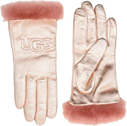 Classic Leather Logo Tech Gloves