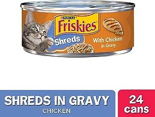 Purina Friskies Shreds Wet Cat Food - (24) 5.5 oz. Cans