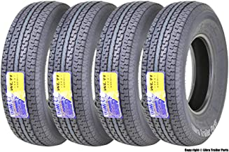 4 New Premium WINDA Trailer Tires ST235/80R16 Radial 10PR Load Range E w/Featured Scuff Guard