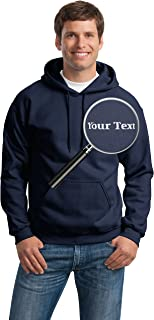 Custom Embroidered Hoodies - Pullover Embroidery Sweaters - Hooded Sweatshirts