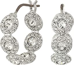 Angelic Hoop Pierced Earrings