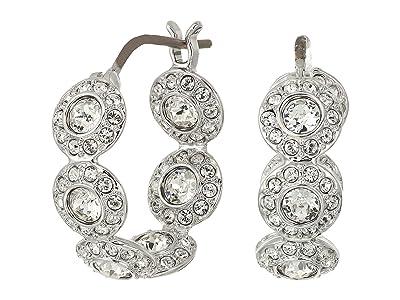 Swarovski Angelic Hoop Pierced Earrings (White) Earring