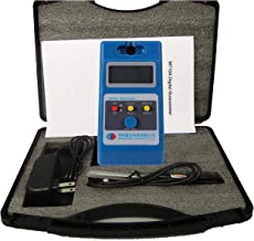 VTSYIQI Gauss Meter Surface Magnetic Field Tester Tesla Meter LCD Gaussmeter Tesla Meter WT10A Fluxmeter Surface Magnetic Field Tester with 0 to 200Mt 0 to 2000mT Ns Function and Metal Probe