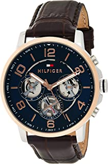 Tommy Hilfiger Womens Quartz Watch, Analog Display and Stainless Steel Strap 1791290