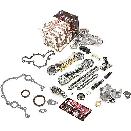 MOCA Timing Chain Kit w//Oil Pump /& Water Pump Kit for 1997-2002 Ford Explorer Ranger /& Mazda B4000 /& Mercury Mountaineer 4.0L V6 SOHC 12V E