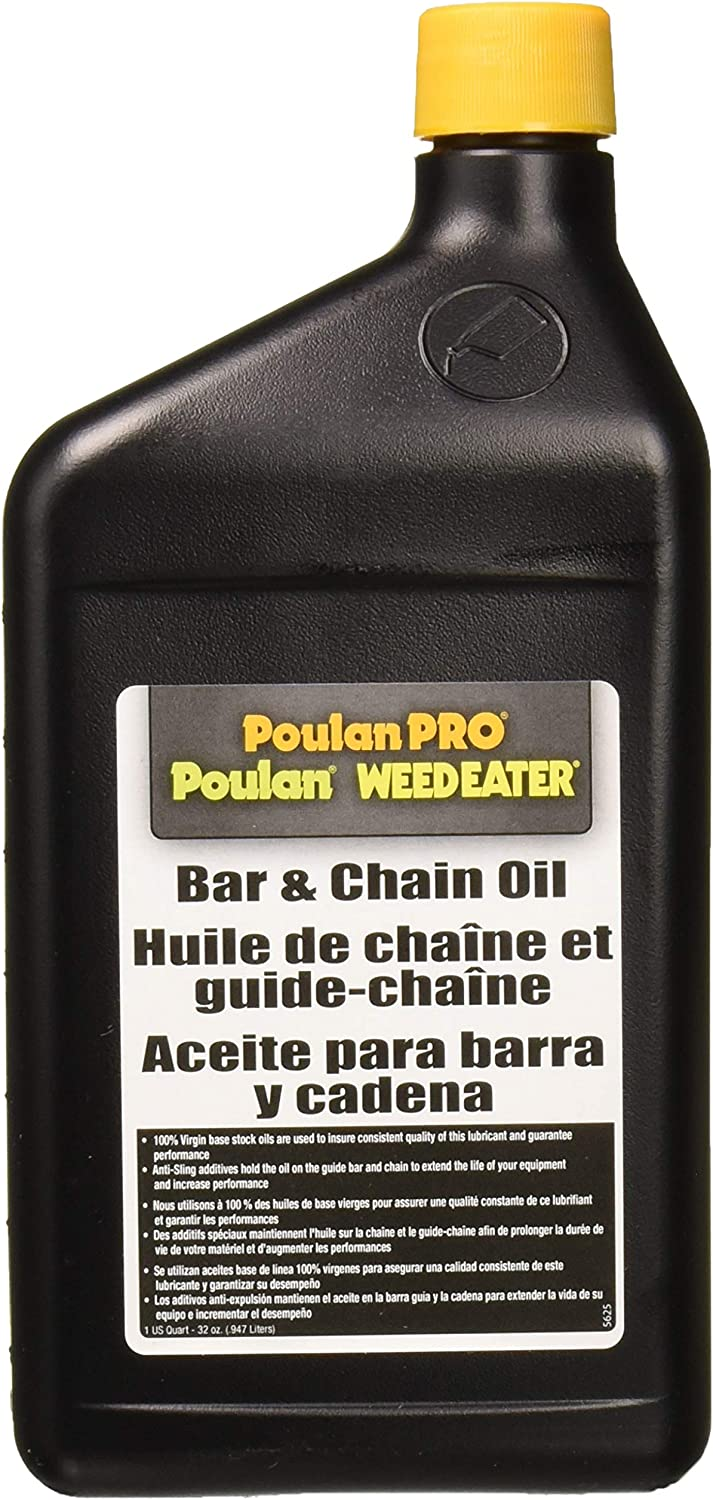 Poulan Pro 952030203 Bar and Chain Oil