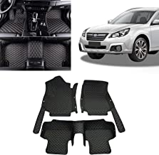 Toryea Classic Leather 3pcs Waterpoof Anti-Slip Floor Mats Fit Subaru Outback 2015 2016 2017 2018 2019