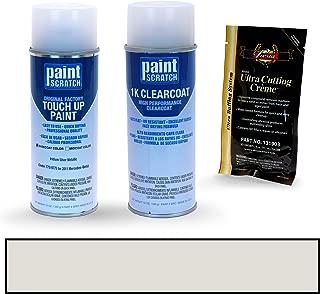 PAINTSCRATCH Iridium Silver Metallic 775/9775 for 2011 Mercedes-Benz C-Class - Touch Up Paint Spray Can Kit - Original Factory OEM Automotive Paint - Color Match Guaranteed