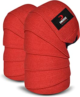 DMoose Knee Wraps for Weightlifting Men and Women...