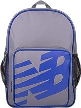 New Balance Men's and Women's Sporty Backpack 600D Polyester Plain Weave, New Balance Logo Padded Strap Bag