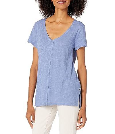 Anne Klein Ak Sport Avie Side Side Ss T-shirt