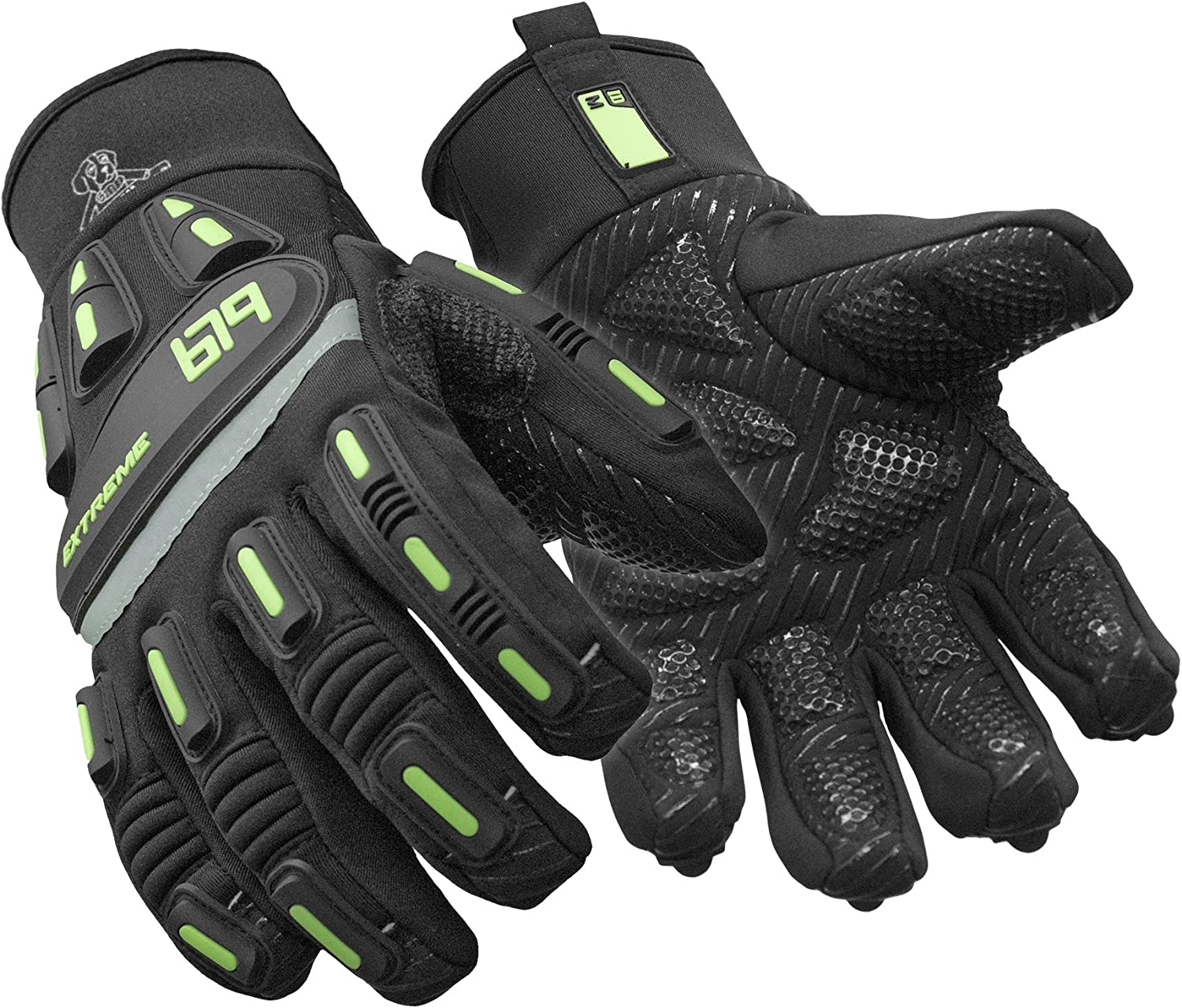 RefrigiWear Insulated Extreme Freezer Gloves with Palm Free shipping Grip Arlington Mall Im