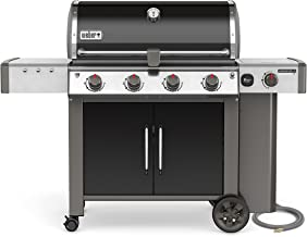 Weber 67014001 Genesis II LX E-440 Natural Gas Grill, Black