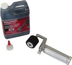 "MARSH Fountain Roller Kit with Full 3"" Length Roller and 1 qt. Black Rolmark Stencil Ink"