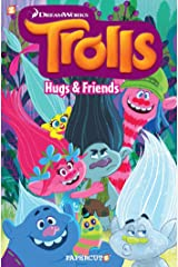 Trolls Graphic Novel Volume 1: Hugs & Friends (Trolls Graphic Novels) Paperback