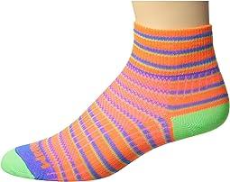 Wrightsock - Coolmesh II Quarter Stripes