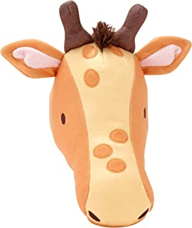 Little Love by NoJo Plush Animal Head Nursery Wall Decor, Giraffe
