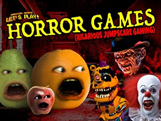 Clip: Annoying Orange Let's Play - Horror Games (Hilarious Jumpscare Gaming)