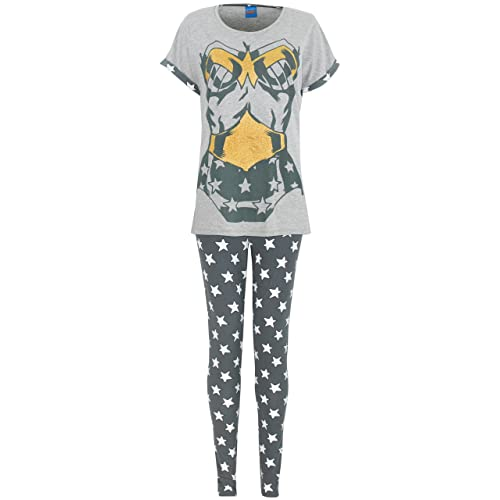 eb933511ce Wonder Woman Pajamas  Amazon.co.uk