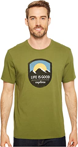 Life is Good - Explore Mountains Smooth Tee
