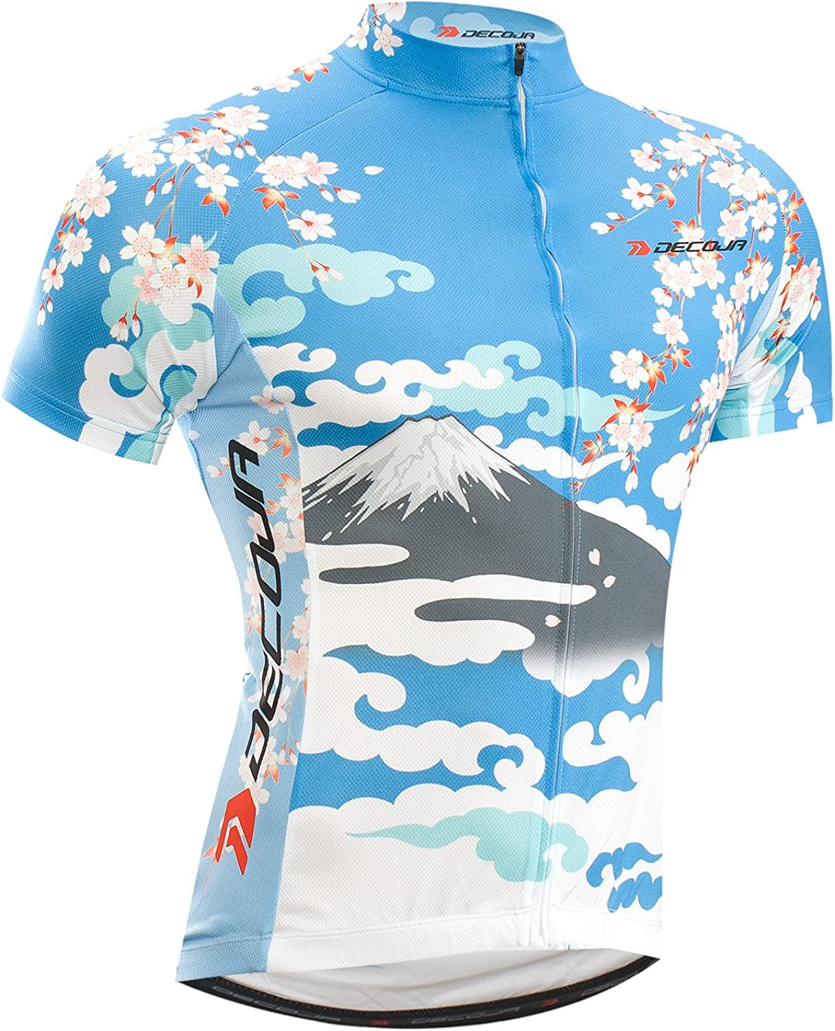 DECOJA Short Sleeve Cycling Jersey Japanese Style