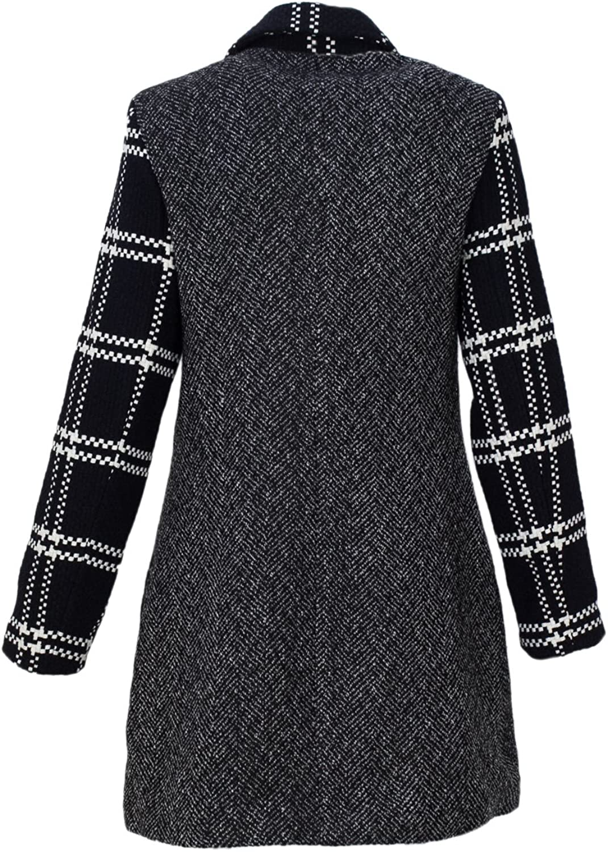 Desigual Womens Abrig_Cincinnati Wool Coat