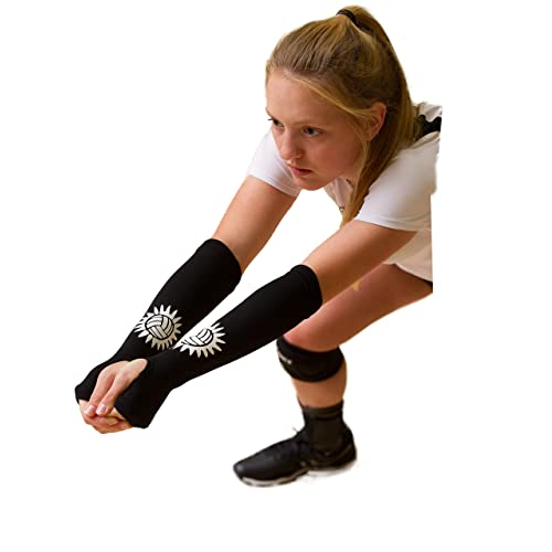 Aggressive Sport Length Elbow Pads Arm Warmers Pad Long Arm Sleeve Support Basketball Sports Armband Running Running Arm Warmers