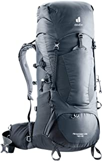 Deuter Aircontact Lite 40+10 Backpack for Hiking and Mountaineering - Graphite-Black