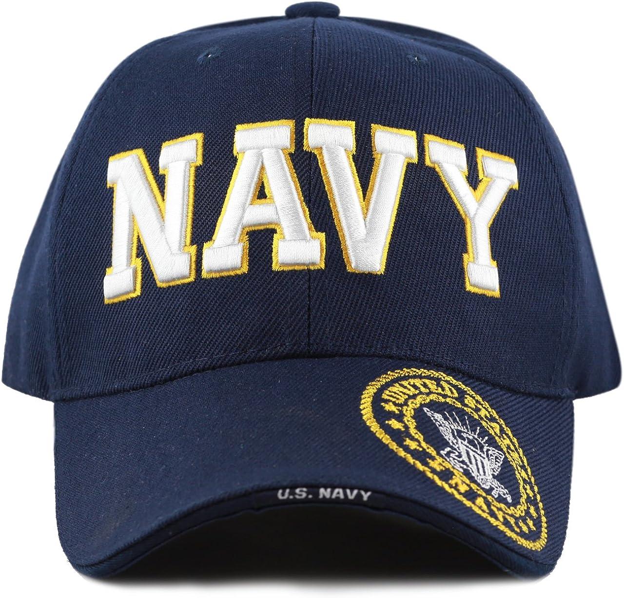 Buy Caps Chicago Mall and Hats U.S. Navy O Mens High quality new Military Cap Baseball Veteran