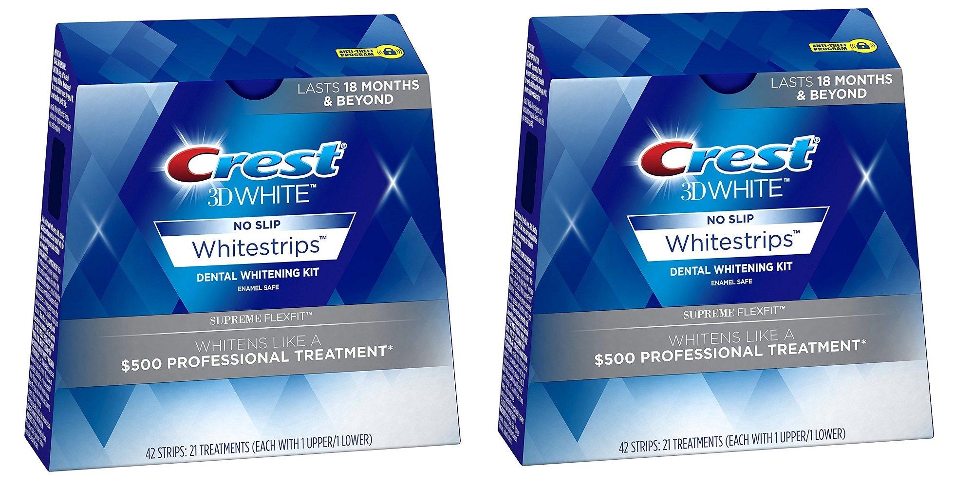 Crest Supreme Whitestrips Whitening Treatments