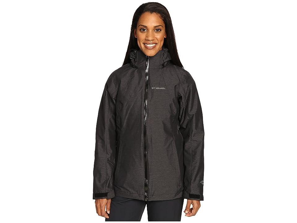 Columbia Whirlibirdtm Interchange Jacket (Black Cross-Dye) Women