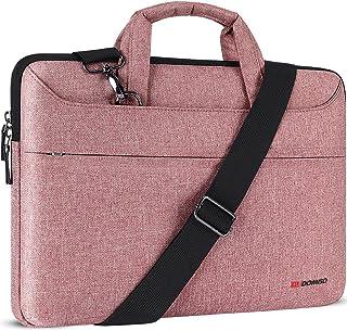 """DOMISO 17 Zoll Laptop Tasche Hülle Notebooktasche Wasserdicht Aktentasche Tragetasche Schultertasche für 17.3"""" Dell Inspir..."""